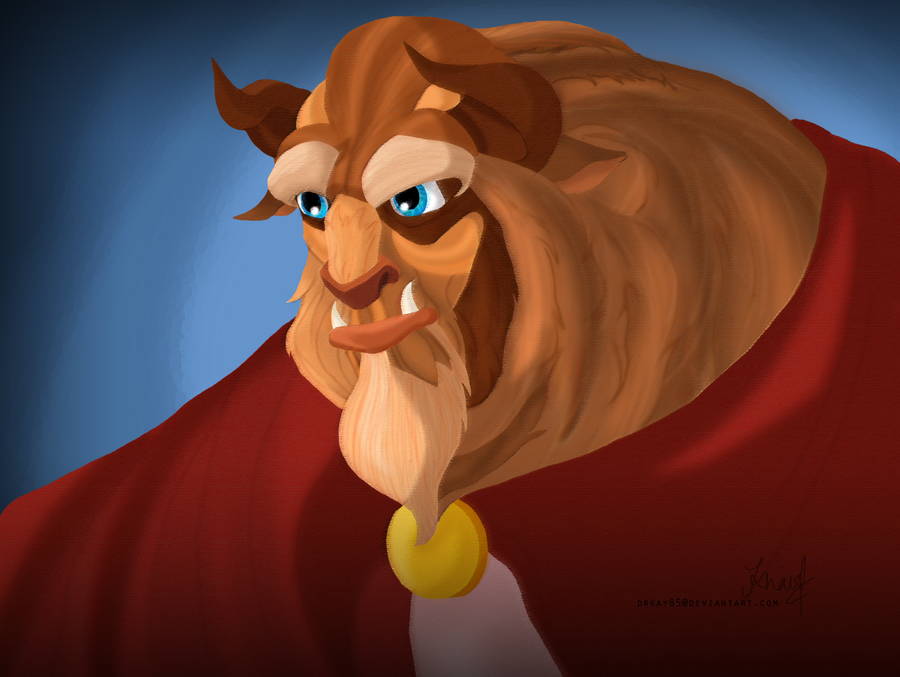 The Beast of Disney's Beauty and the Beast by drkay85 on ...