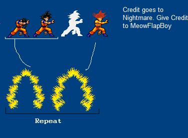 False Super Saiyan Intro by MeowFlapBoy