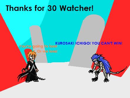 30 Watcher Special - GRIMMJOW VS ICHIGO KUROSAKI by MeowFlapBoy