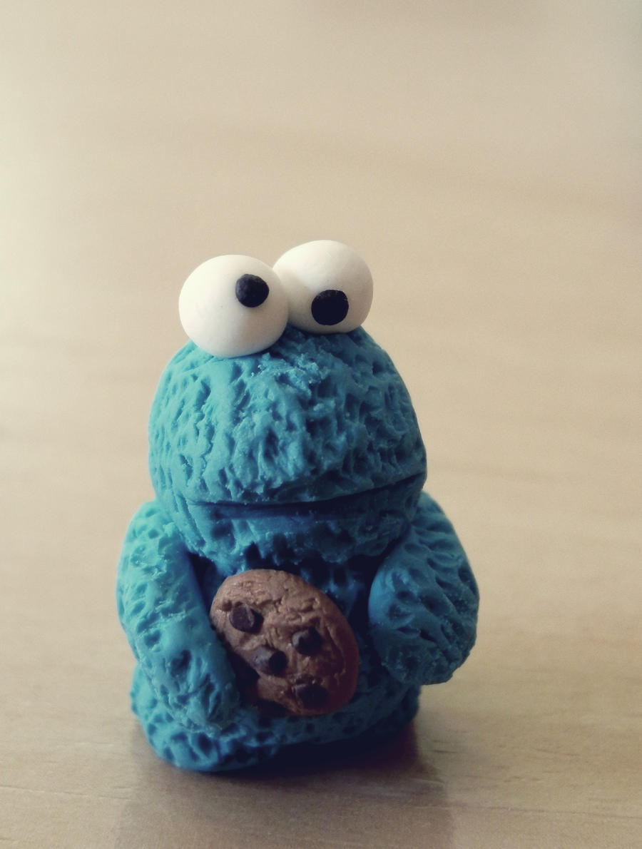 Cookie Monster by coralfg