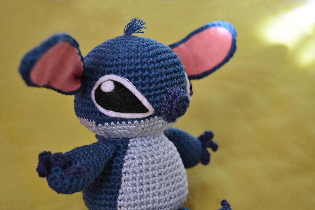 Stitch amigurumi by coralfg on DeviantArt