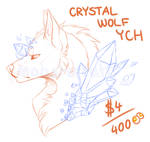 Crystal Wolf YCH :UNLIMITED SLOTS / CLOSED ATM