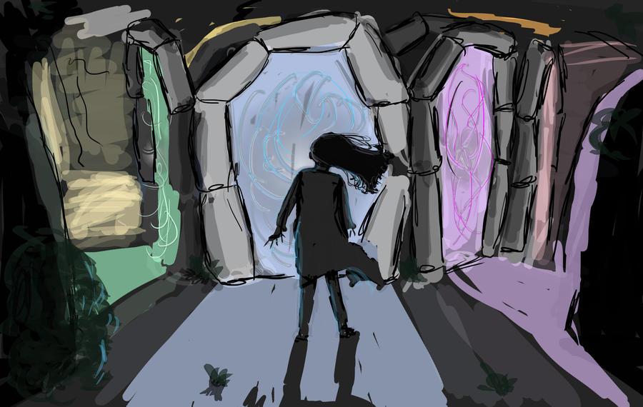 The Gates of Shamin - Concept