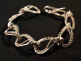Silver Bracelet by FILIGRY