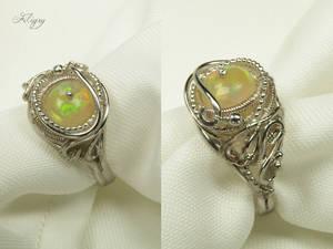 DD - Romance - Opal Ring