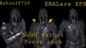 Noob Saibot Poses pack