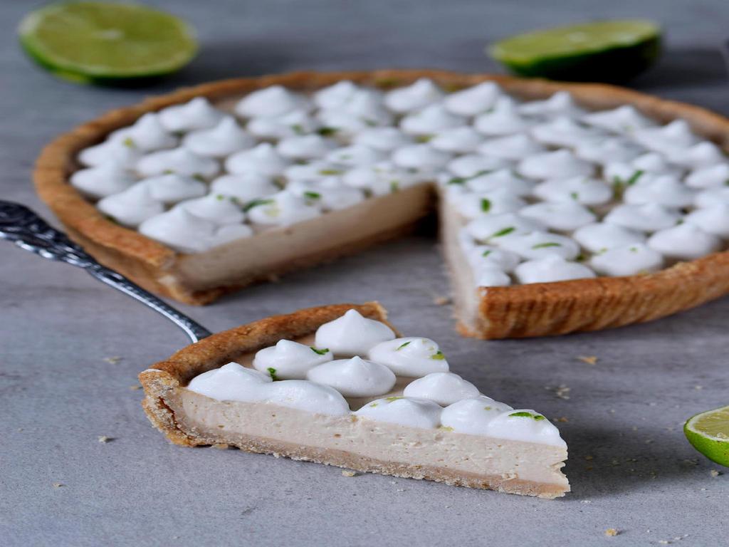 Vegan Key Lime Pie Easy Gluten Free Recipe1 By Elavegan On