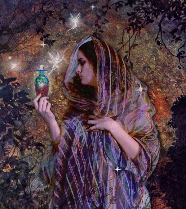 Perfume Goddess by Zingaia
