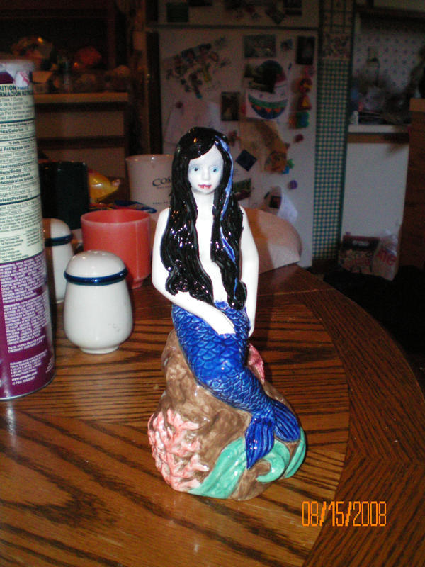 Finished Sea Sick Mermaid by sessyf1uffyism1n3l0l