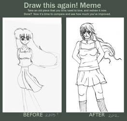 Draw This Again Meme by Fainttos