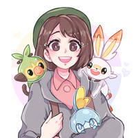 Pokemon Sword and Shield by itsluho