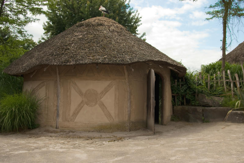 Primitive Technology Make A Thatched Roof Huts On The – Dibujos Para