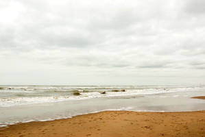 North Sea beach 2 by steppelandstock