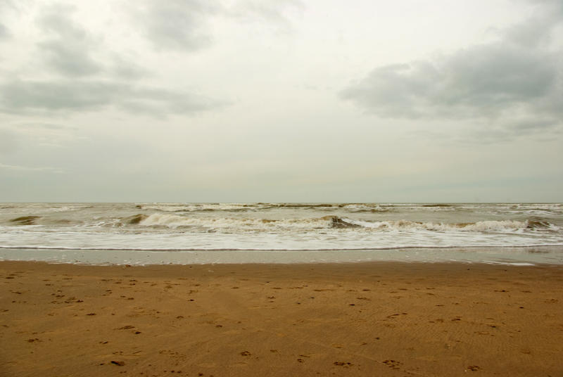 North Sea beach 4 by steppelandstock