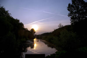 morning sun over the canal 2