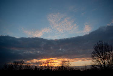 My today's sunset 0053