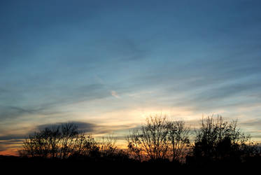 Samhain sunset 01 by steppelandstock