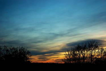 Samhain sunset 03 by steppelandstock