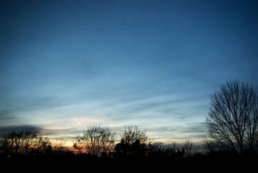 Samhain sunset 05 by steppelandstock