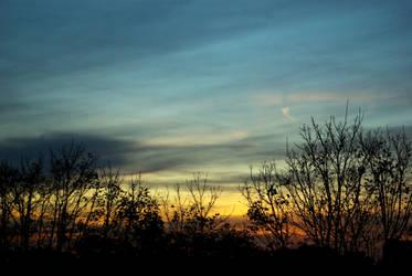 Samhain sunset 07 by steppelandstock