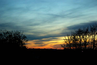 Samhain sunset 08 by steppelandstock