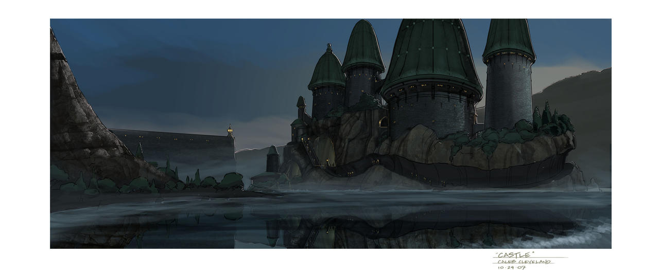 Floating Castle by cal...