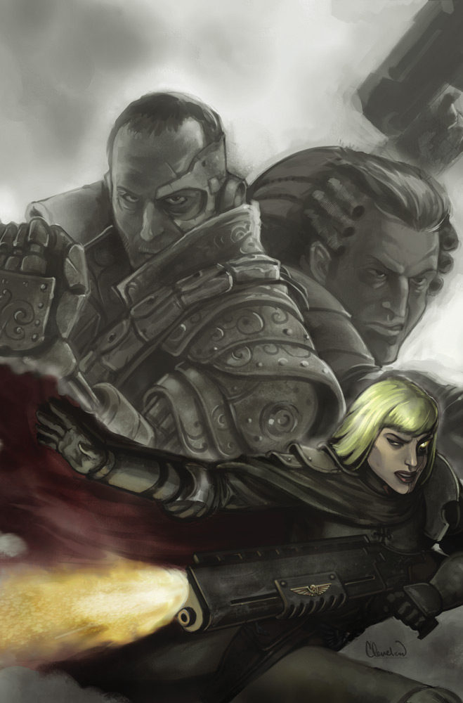 WARHAMMER 40K: EXTERMINATUS 2A by calebcleveland