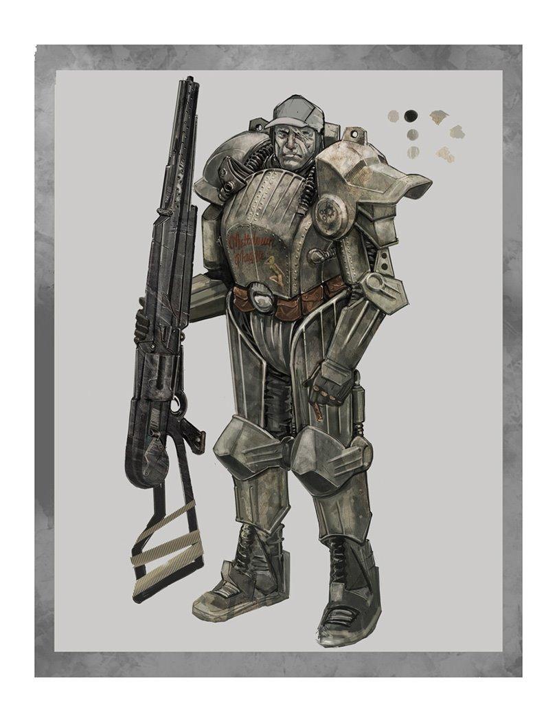 Fallout  Barbarian Build