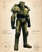 Retro Power Armor Colors