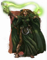 Jade Wizard by calebcleveland
