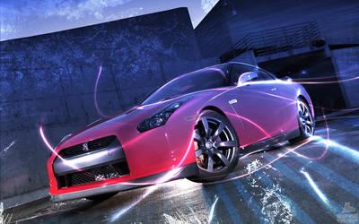 Nissan GTR by spavic