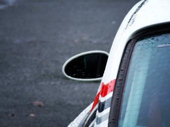 Porsche mirror