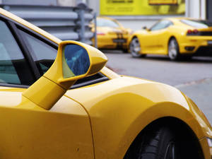Lamborghini Gallardo mirror