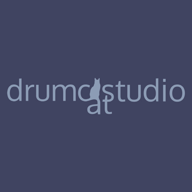 Logo-drumcat Studio-v2