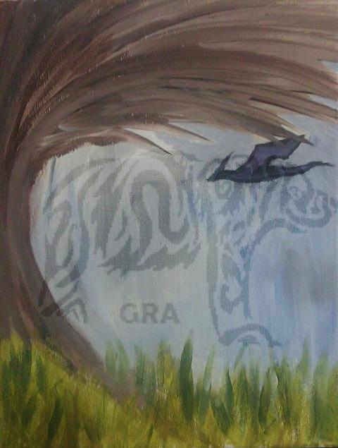 Distant Dragon by wild-spirit-wolfgirl