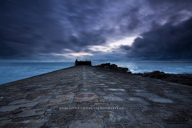 Storm at sea by PRibeiro