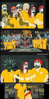 Superjail -ICP and Slipknot by CupcakeAIDS