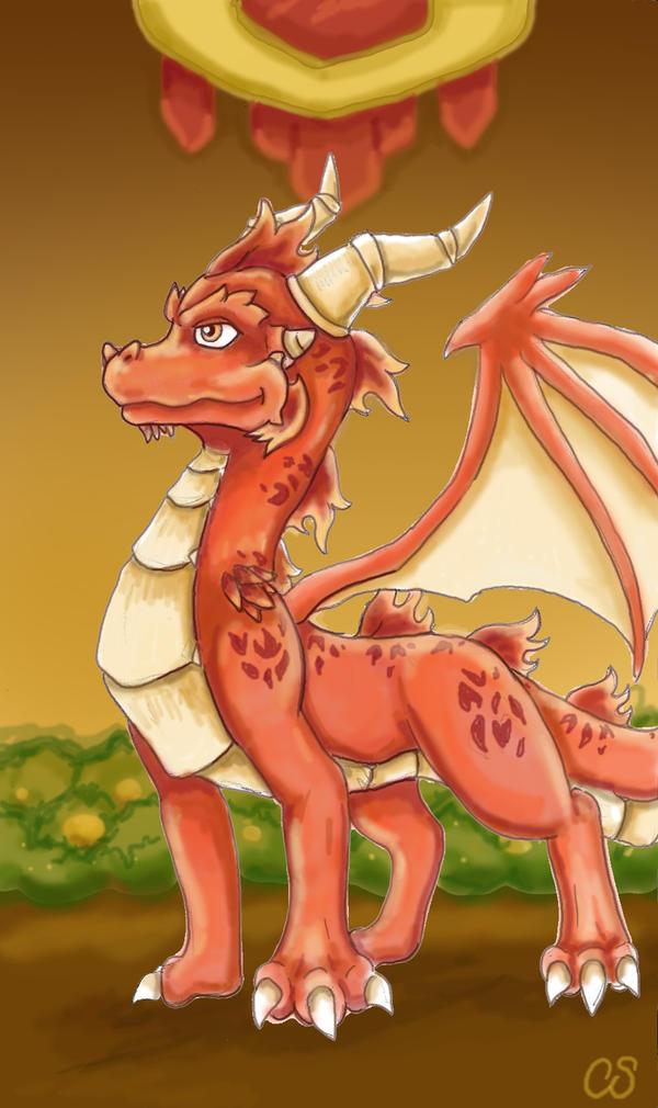Juvenile Ignitus by DragonCid
