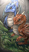 Dragon Chicks by DragonCid