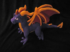 Spyro DOTD Plush by DragonCid