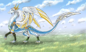 Adiv Krios: The Angelic Dragon