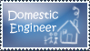 Domestic Engineer Stamp by DragonCid
