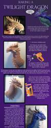 Making a Twilight Dragon by DragonCid