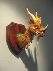 Bronze Dragon by DragonCid