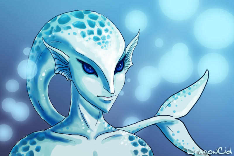 Zora Portrait by DragonCid