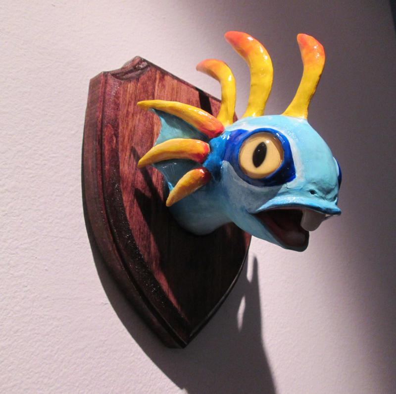 Babby Murloc Head by DragonCid