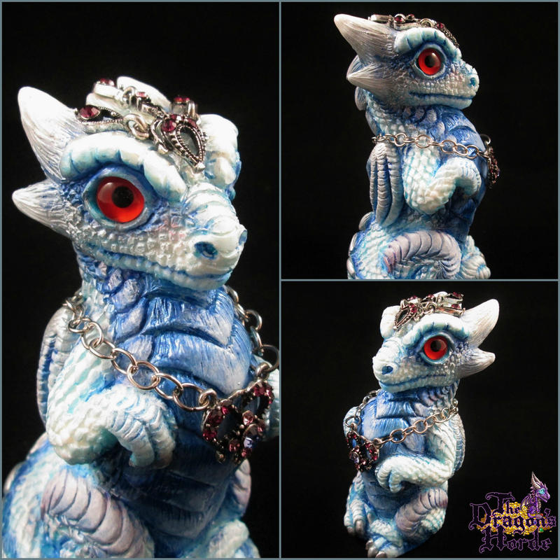 Crowned Prince Dragon of Winterfall by DragonCid