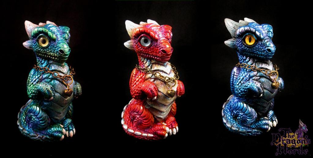 Dragon Trio by DragonCid