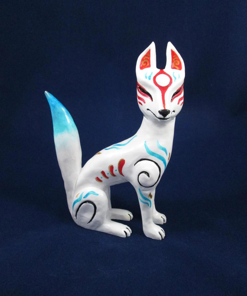 Myobu Spirit Fox by DragonCid