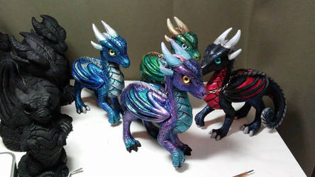 Princess Dragons WIP 4 by DragonCid